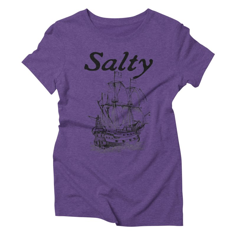 Salty Women's Triblend T-Shirt by Virtue - There's more to it