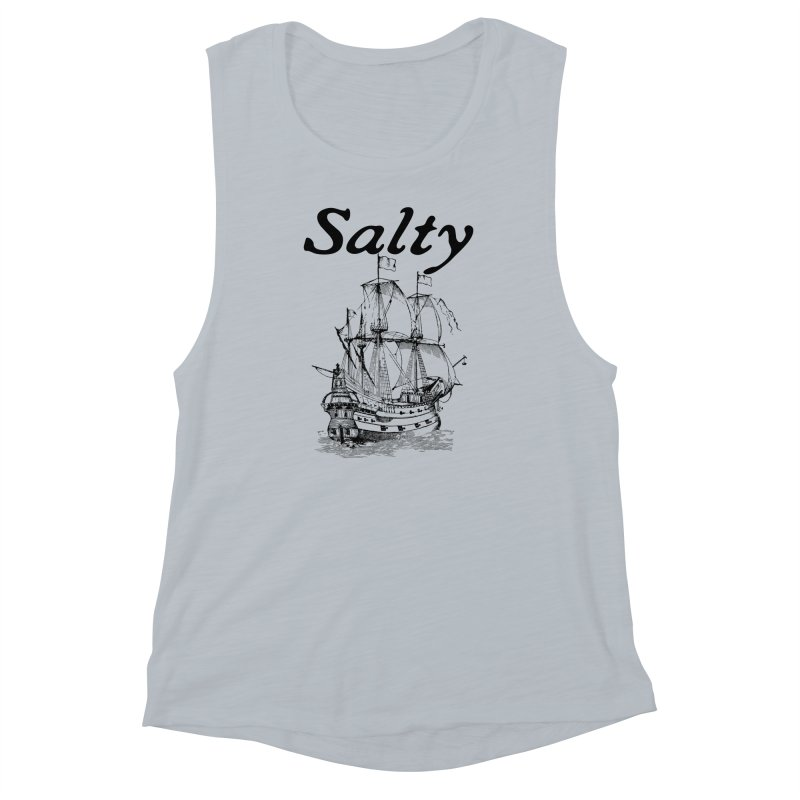 Salty Women's Muscle Tank by Virtue - There's more to it