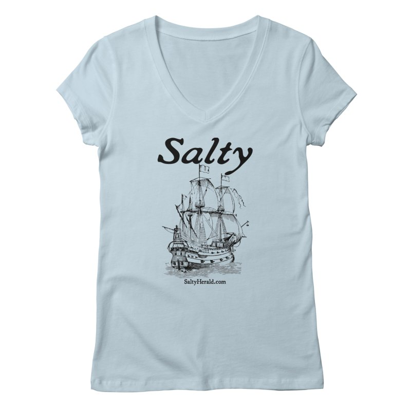 Salty Women's V-Neck by Virtue - There's more to it