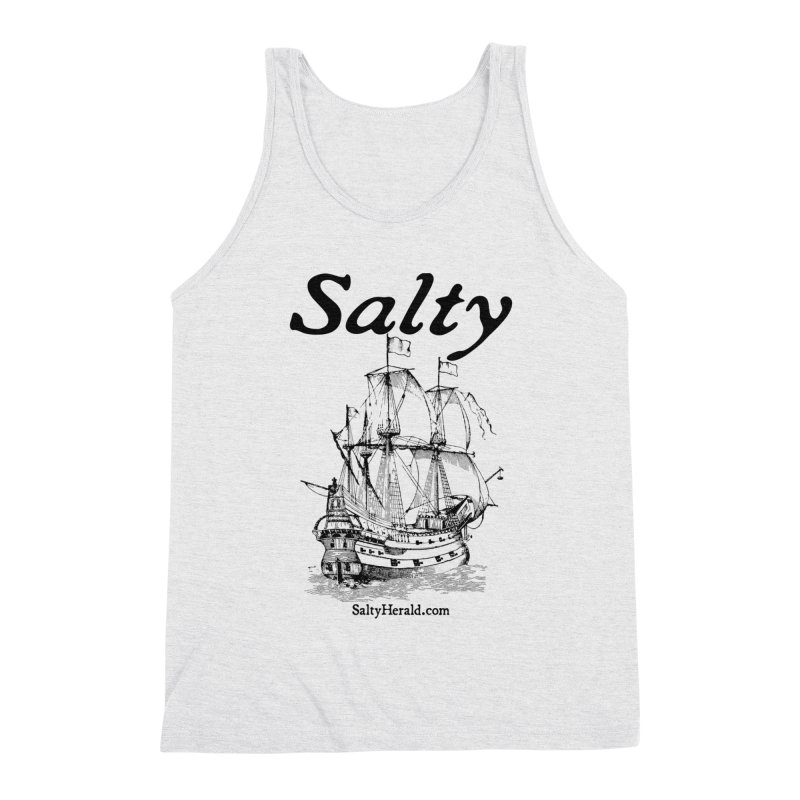 Salty Men's Triblend Tank by Virtue - There's more to it