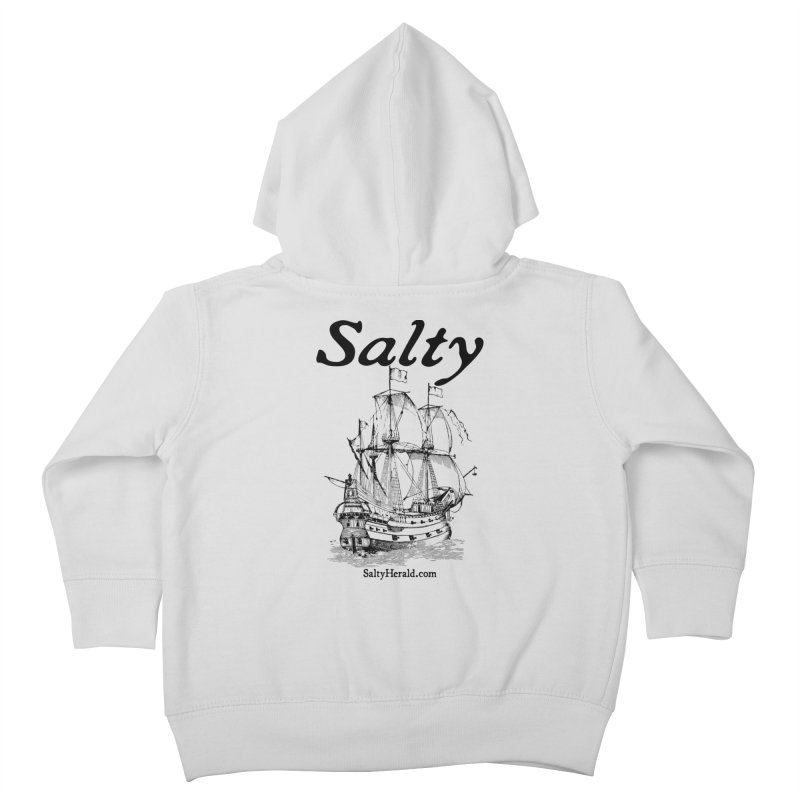 Salty Kids Toddler Zip-Up Hoody by Virtue - There's more to it