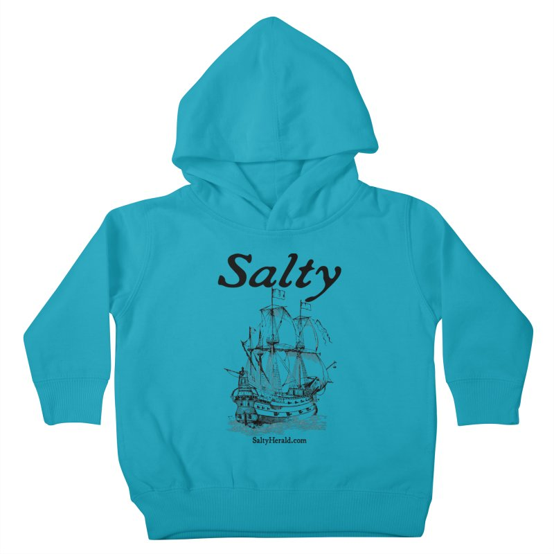 Salty Kids Toddler Pullover Hoody by Virtue - There's more to it