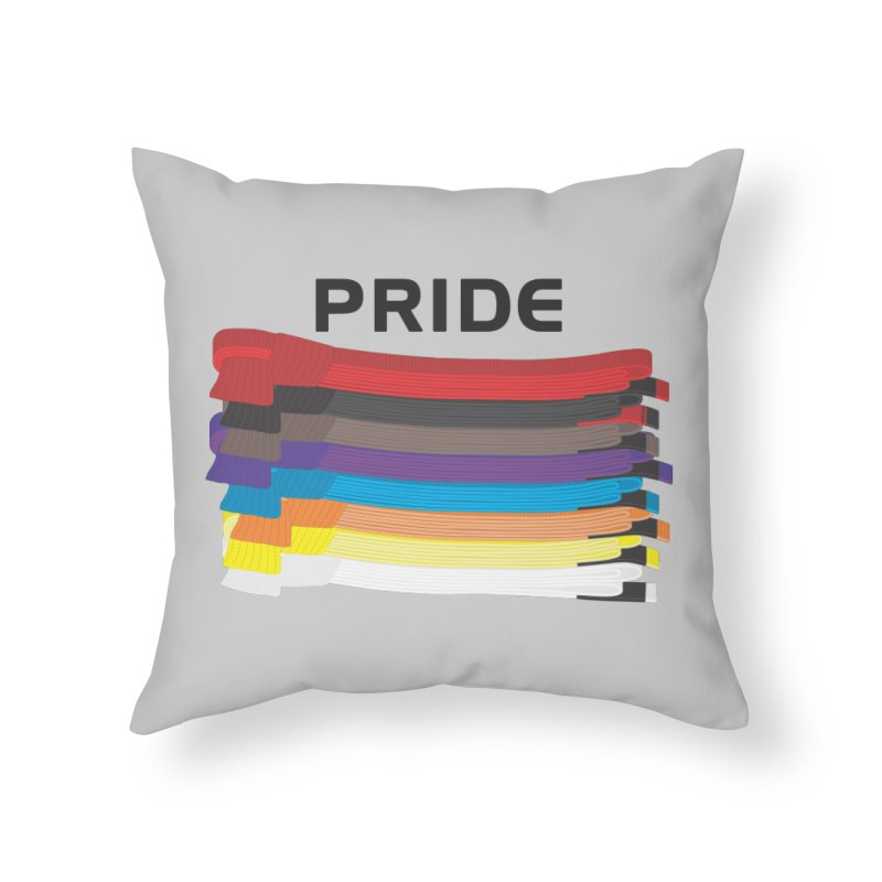 Pride and Honor Home Throw Pillow by Virtue - There's more to it