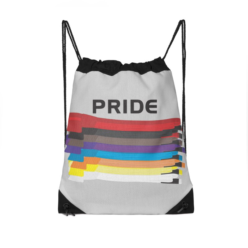 Pride and Honor Accessories Drawstring Bag Bag by Virtue - There's more to it