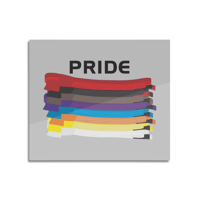 Pride and Honor Home Mounted Aluminum Print by Virtue - There's more to it