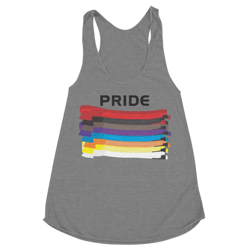 Pride and Honor Women's Racerback Triblend Tank by Virtue - There's more to it
