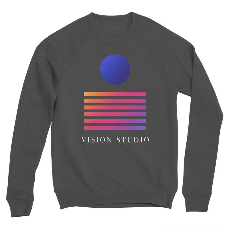 VHS VISION Men's Sponge Fleece Sweatshirt by Vision Studio