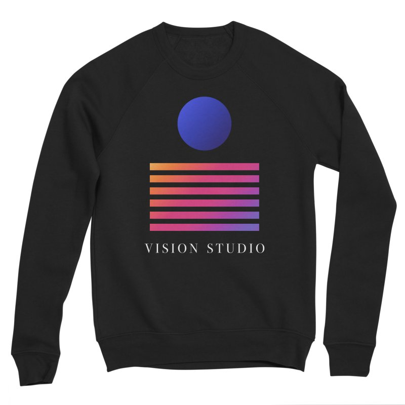 VHS VISION Women's Sponge Fleece Sweatshirt by Vision Studio