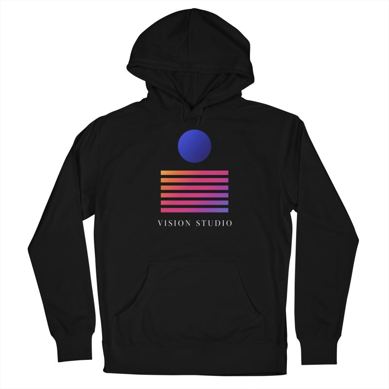 VHS VISION Men's French Terry Pullover Hoody by Vision Studio