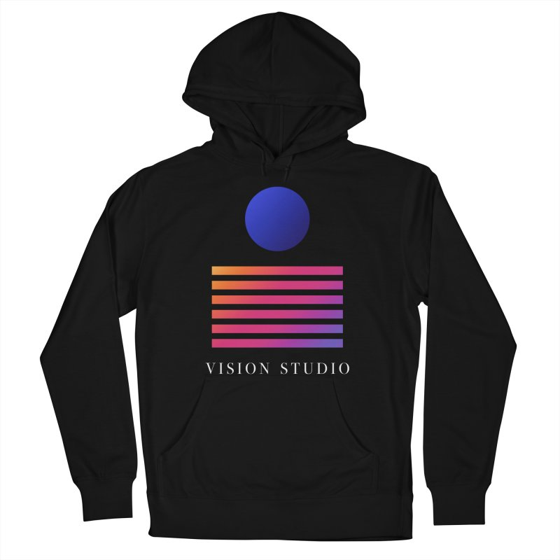 VHS VISION Women's French Terry Pullover Hoody by Vision Studio
