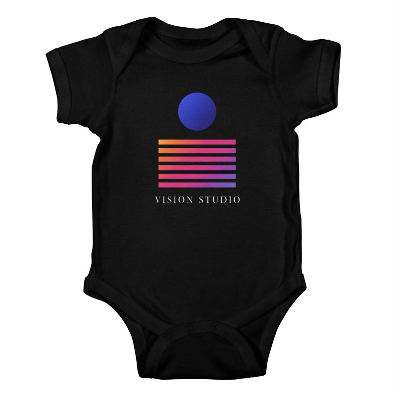 VHS VISION Kids Baby Bodysuit by Vision Studio