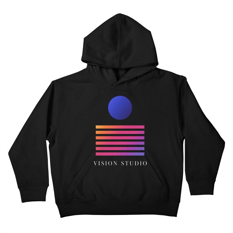 VHS VISION Kids Pullover Hoody by Vision Studio
