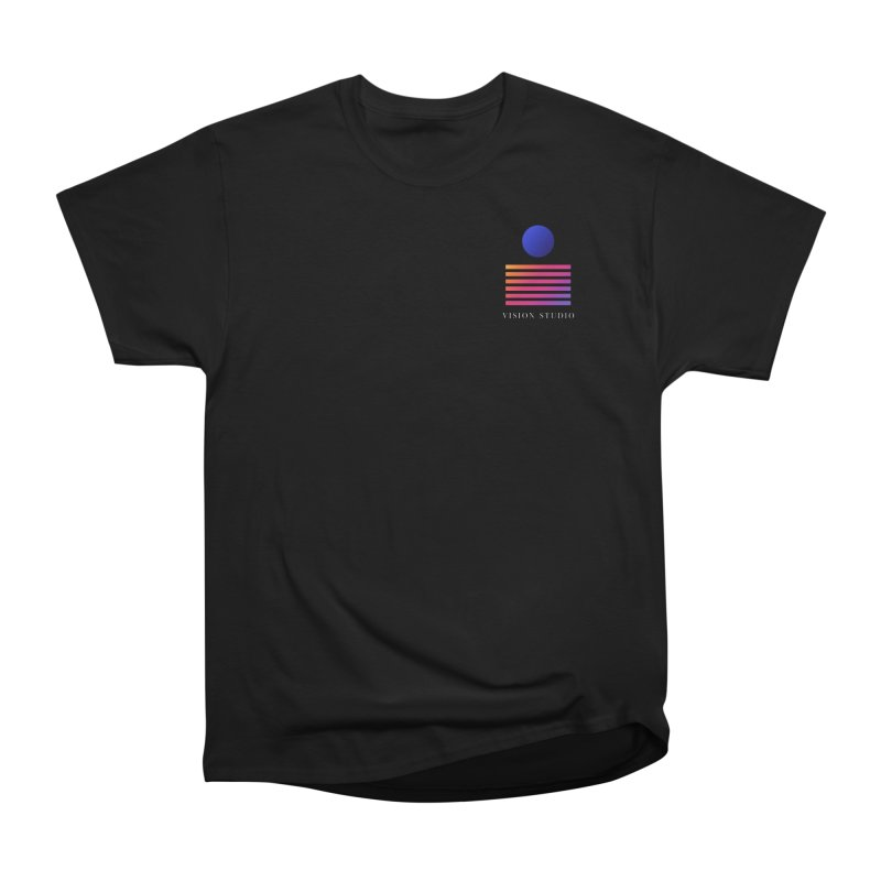VHS POCKET DESIGN Men's Heavyweight T-Shirt by Vision Studio