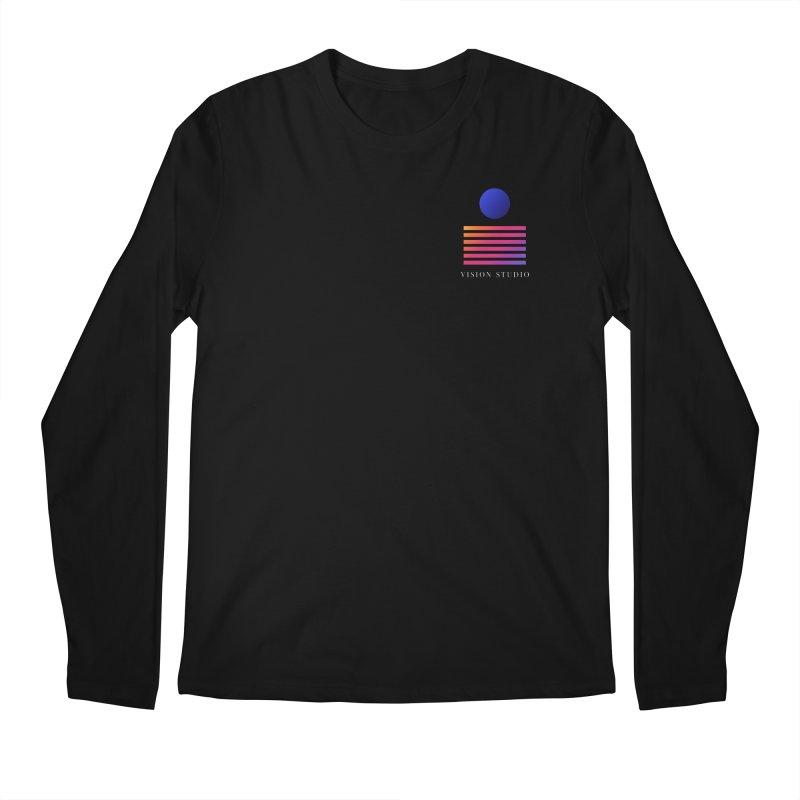 VHS POCKET DESIGN Men's Regular Longsleeve T-Shirt by Vision Studio