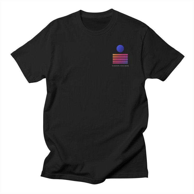 VHS POCKET DESIGN Men's Regular T-Shirt by Vision Studio
