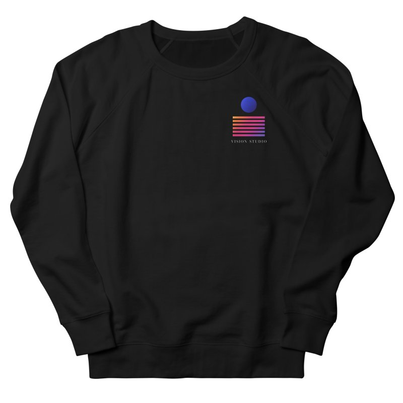 VHS POCKET DESIGN Men's French Terry Sweatshirt by Vision Studio