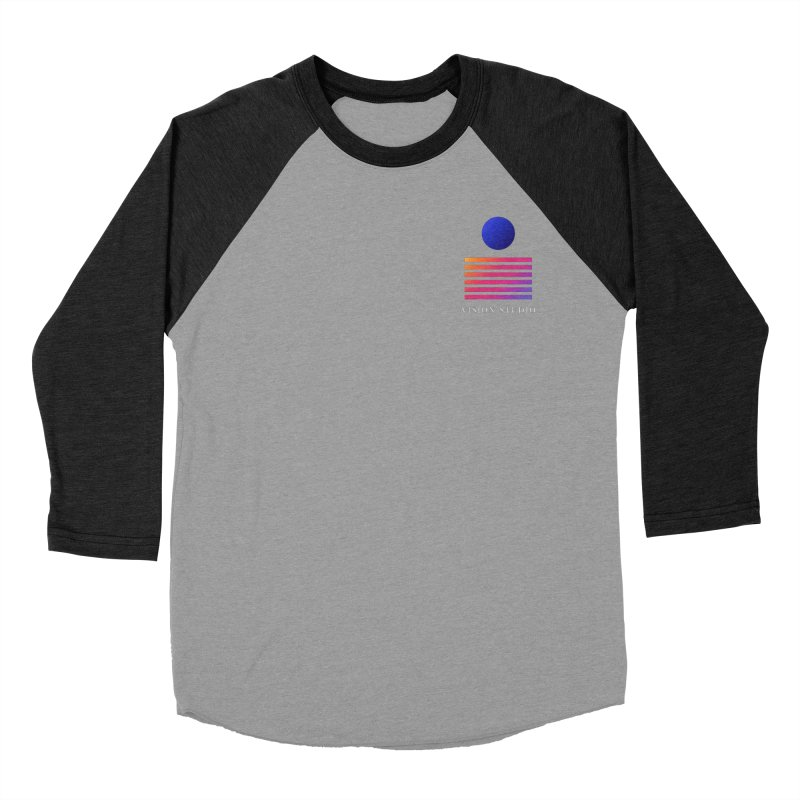 VHS POCKET DESIGN Women's Baseball Triblend Longsleeve T-Shirt by Vision Studio