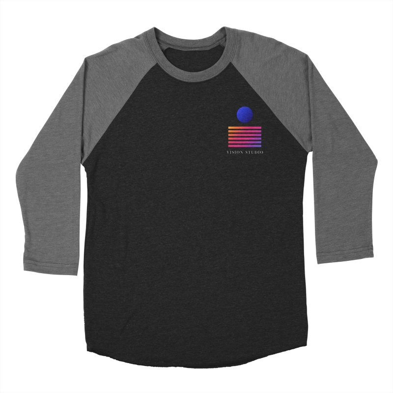 VHS POCKET DESIGN Men's Baseball Triblend Longsleeve T-Shirt by Vision Studio