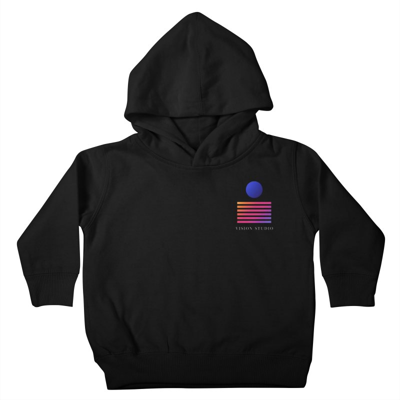 VHS POCKET DESIGN Kids Toddler Pullover Hoody by Vision Studio