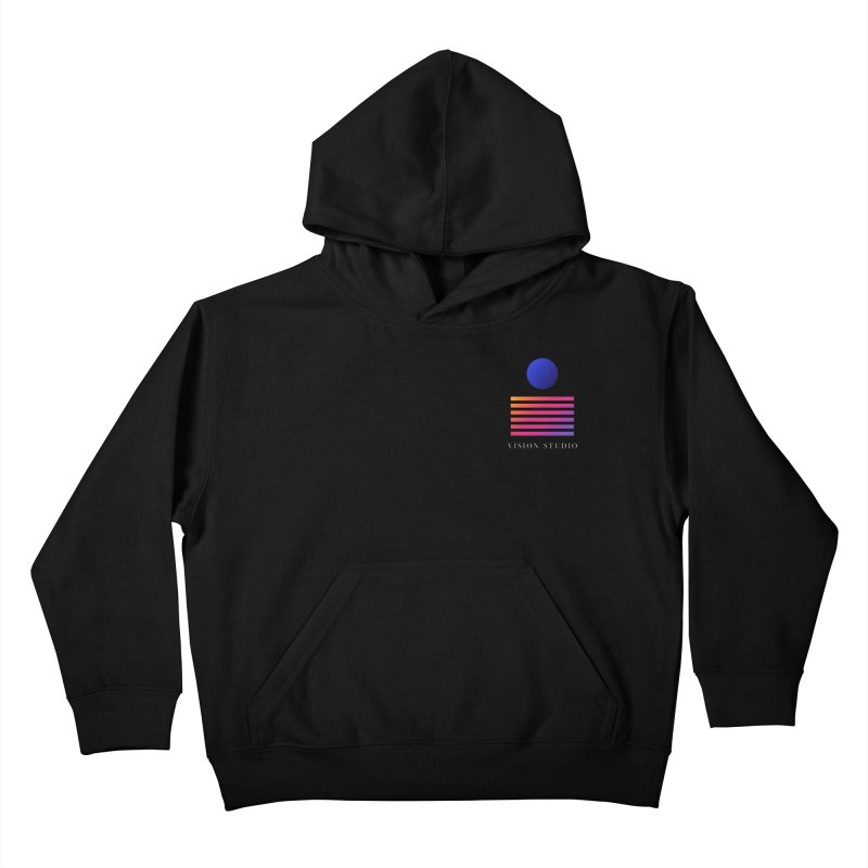 VHS POCKET DESIGN Kids Pullover Hoody by Vision Studio