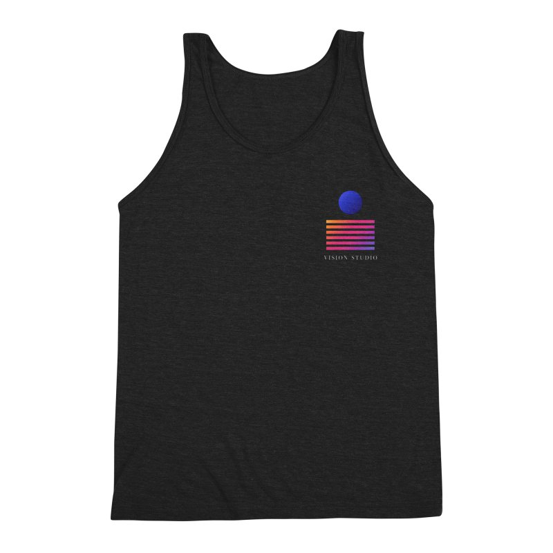VHS POCKET DESIGN Men's Tank by Vision Studio
