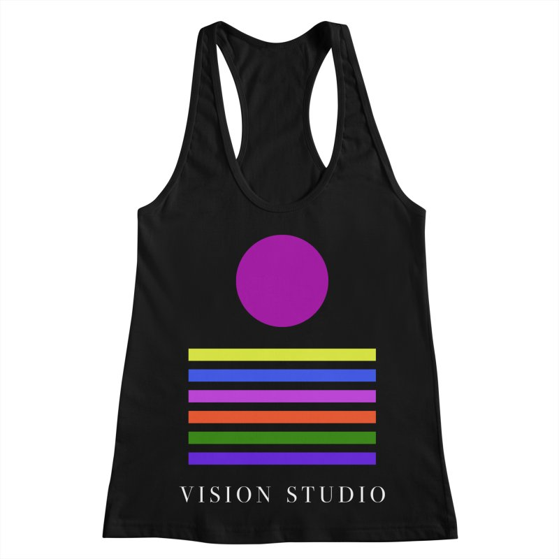 Nations United Women's Racerback Tank by Vision Studio