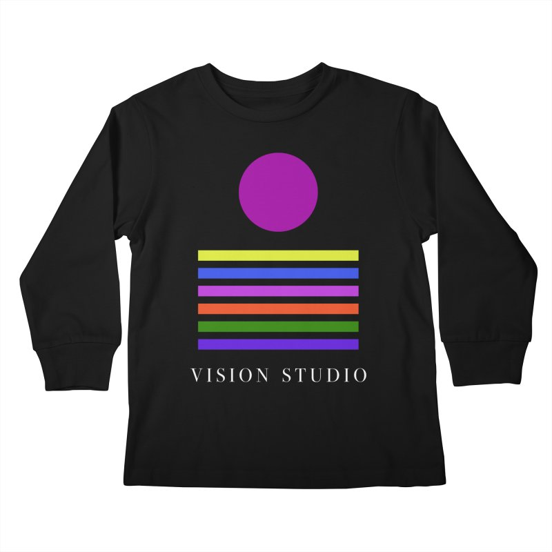 Nations United Kids Longsleeve T-Shirt by Vision Studio