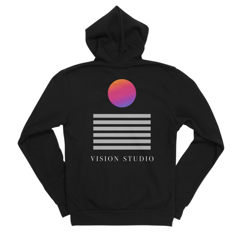VHS DREAMS Men's Zip-Up Hoody by Vision Studio