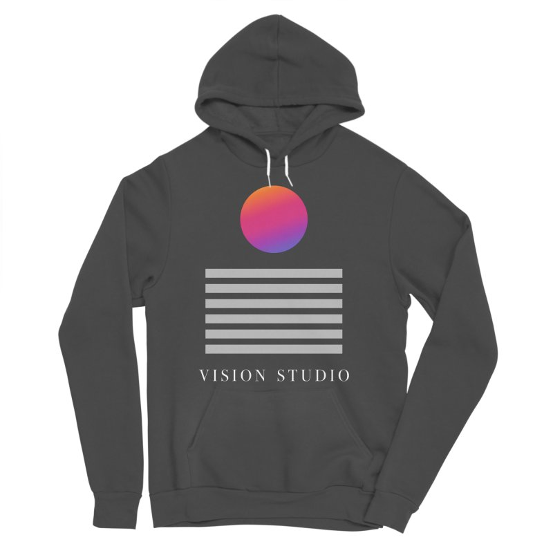 VHS DREAMS Women's Sponge Fleece Pullover Hoody by Vision Studio