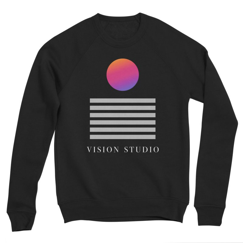 VHS DREAMS Men's Sponge Fleece Sweatshirt by Vision Studio