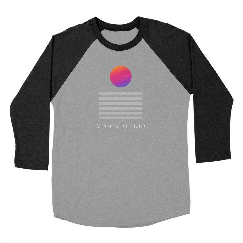 VHS DREAMS Women's Baseball Triblend Longsleeve T-Shirt by Vision Studio
