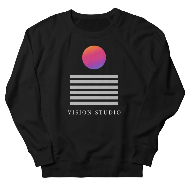 VHS DREAMS Women's French Terry Sweatshirt by Vision Studio