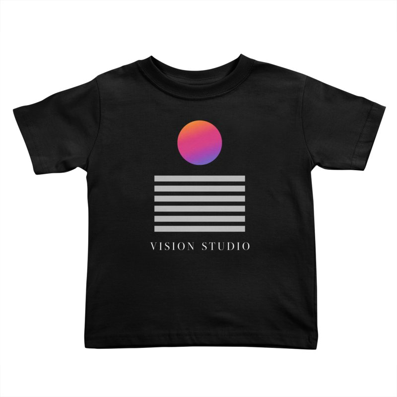 VHS DREAMS Kids Toddler T-Shirt by Vision Studio