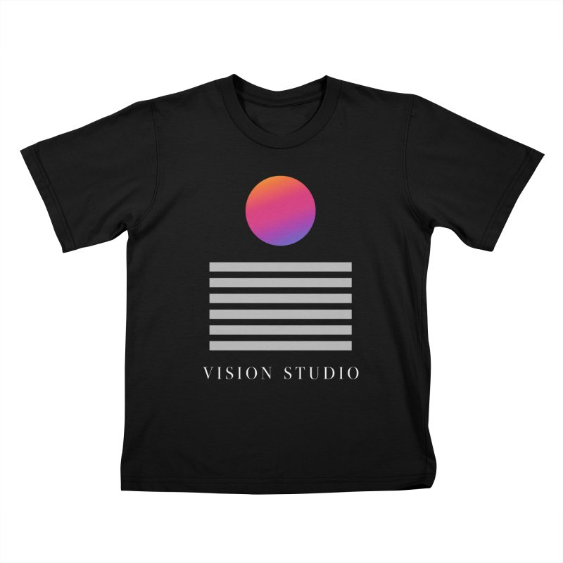 VHS DREAMS Kids T-Shirt by Vision Studio