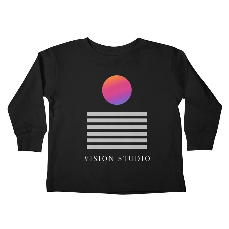 VHS DREAMS Kids Toddler Longsleeve T-Shirt by Vision Studio