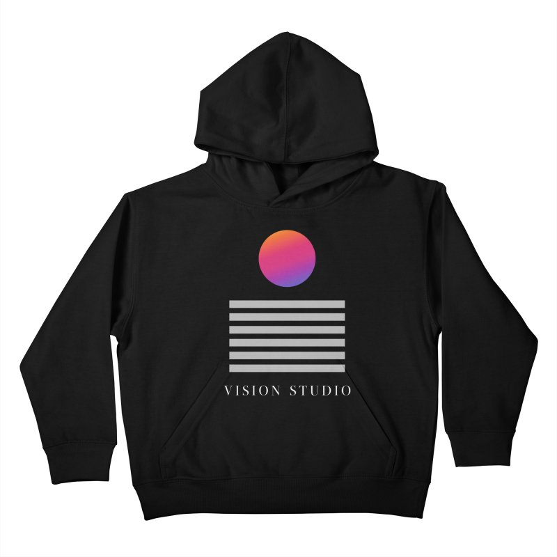 VHS DREAMS Kids Pullover Hoody by Vision Studio