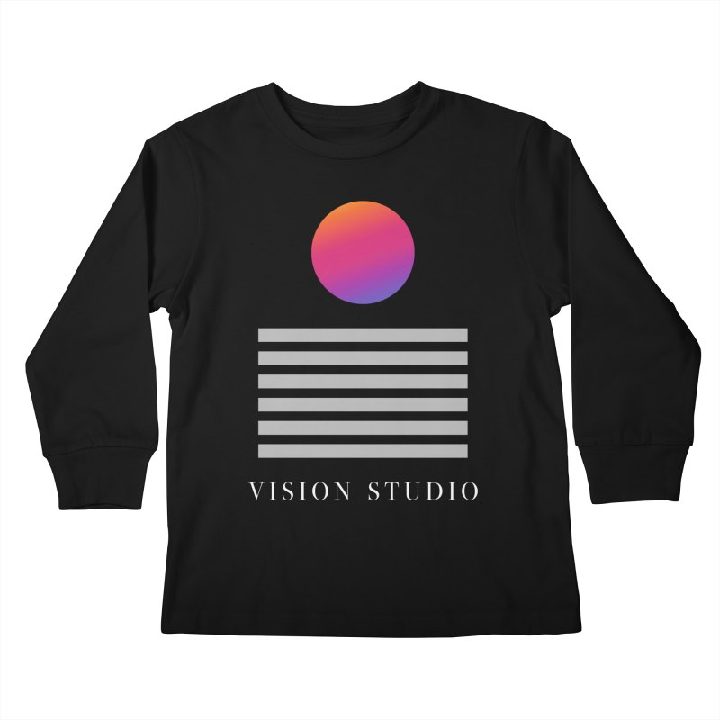 VHS DREAMS Kids Longsleeve T-Shirt by Vision Studio