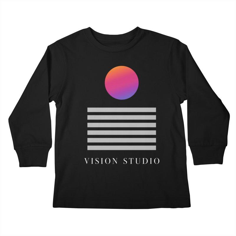 VHS DREAMS Kids Longsleeve T-Shirt by Vision Studio