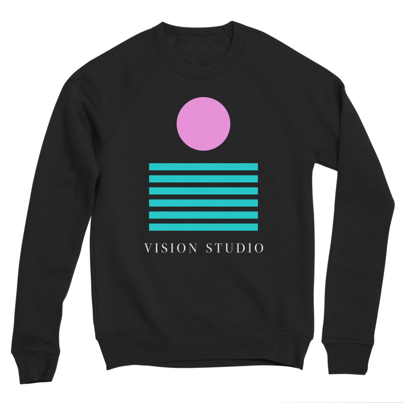 Def Miami Men's Sponge Fleece Sweatshirt by Vision Studio