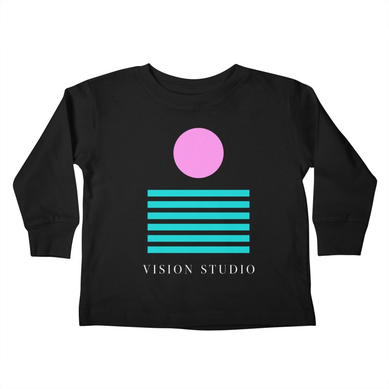 Def Miami Kids Toddler Longsleeve T-Shirt by Vision Studio