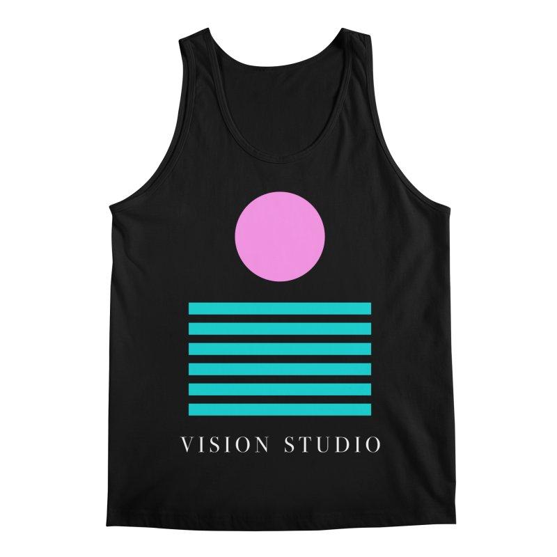 Def Miami Men's Regular Tank by Vision Studio