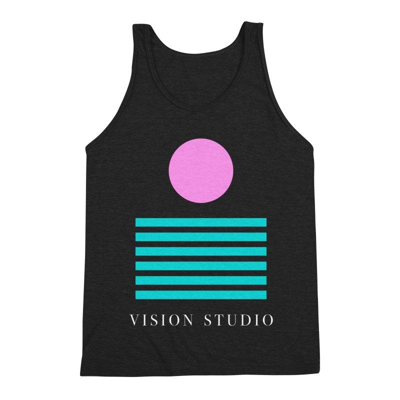 Def Miami Men's Tank by Vision Studio