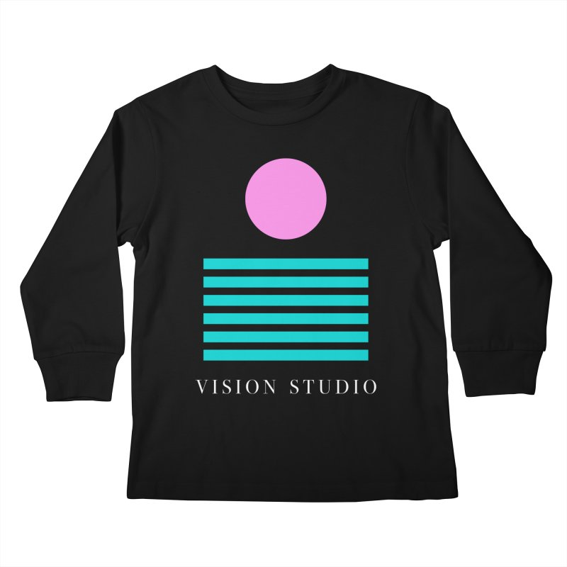 Def Miami Kids Longsleeve T-Shirt by Vision Studio