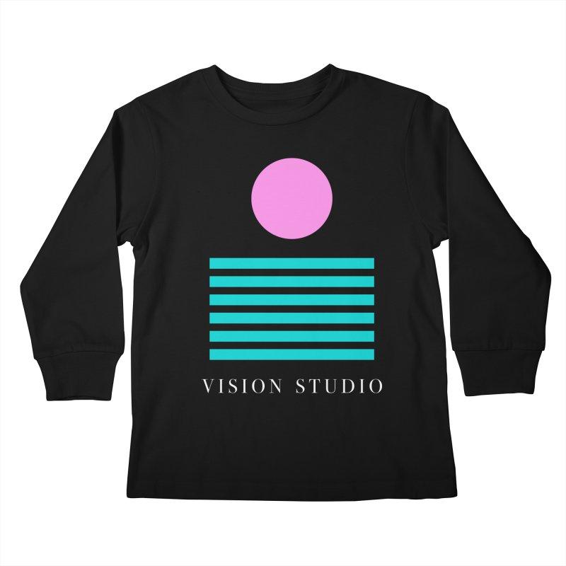 Def Miami Kids Longsleeve T-Shirt by Vision Studio