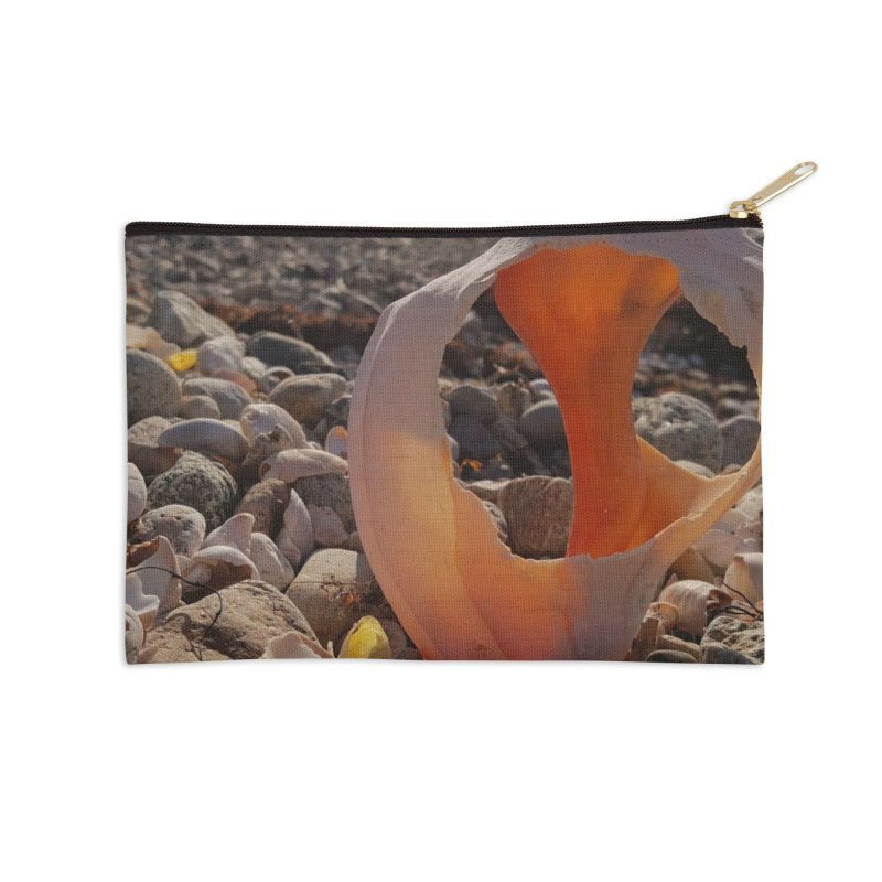 shell Accessories Zip Pouch by visitmv's Shop