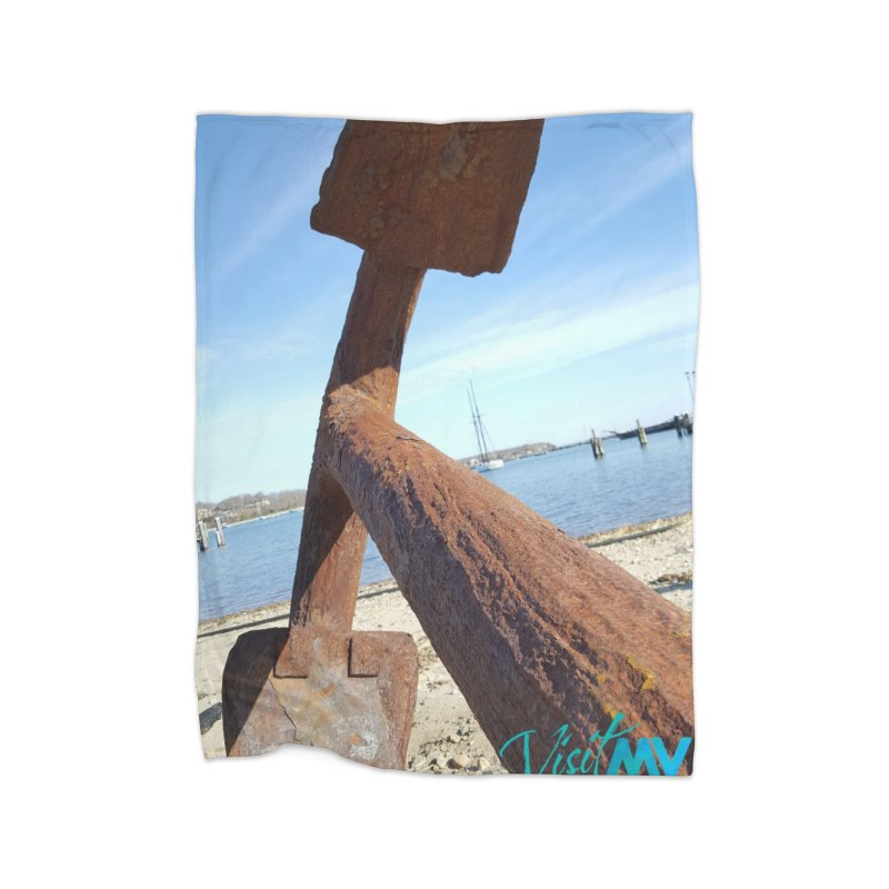 Anchored! Home Blanket by visitmv's Shop