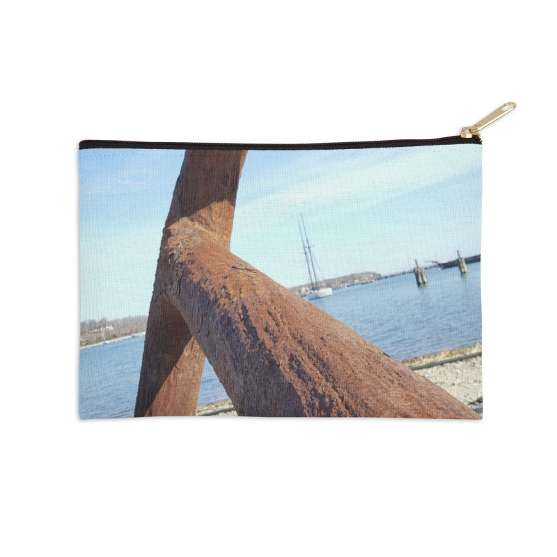 Anchored! Accessories Zip Pouch by visitmv's Shop