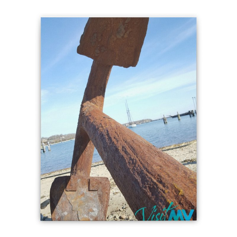 Anchored! Home Stretched Canvas by visitmv's Shop