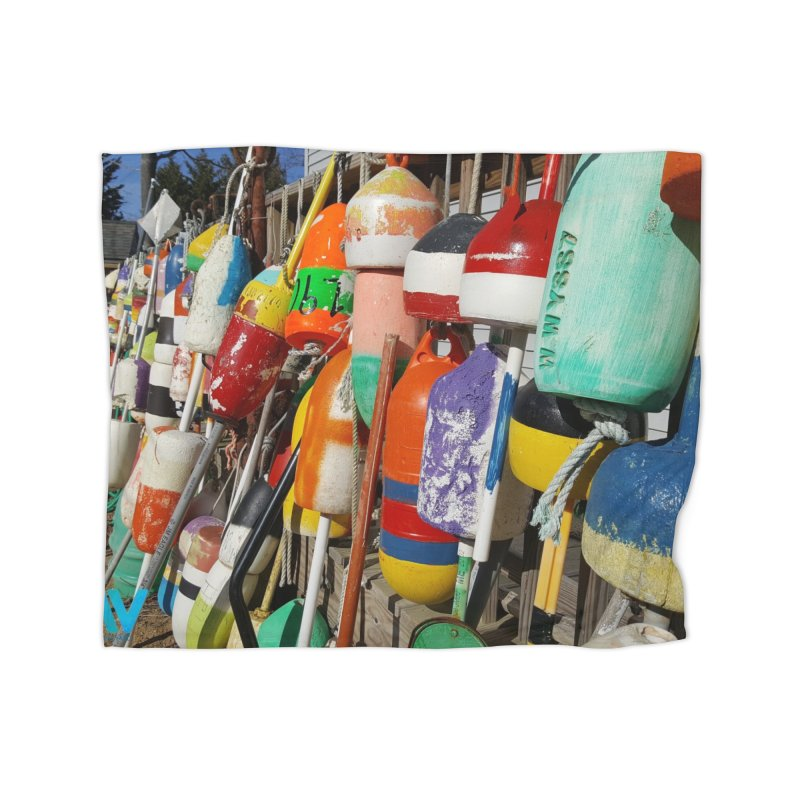 Vineyard Buoys  Home Blanket by visitmv's Shop