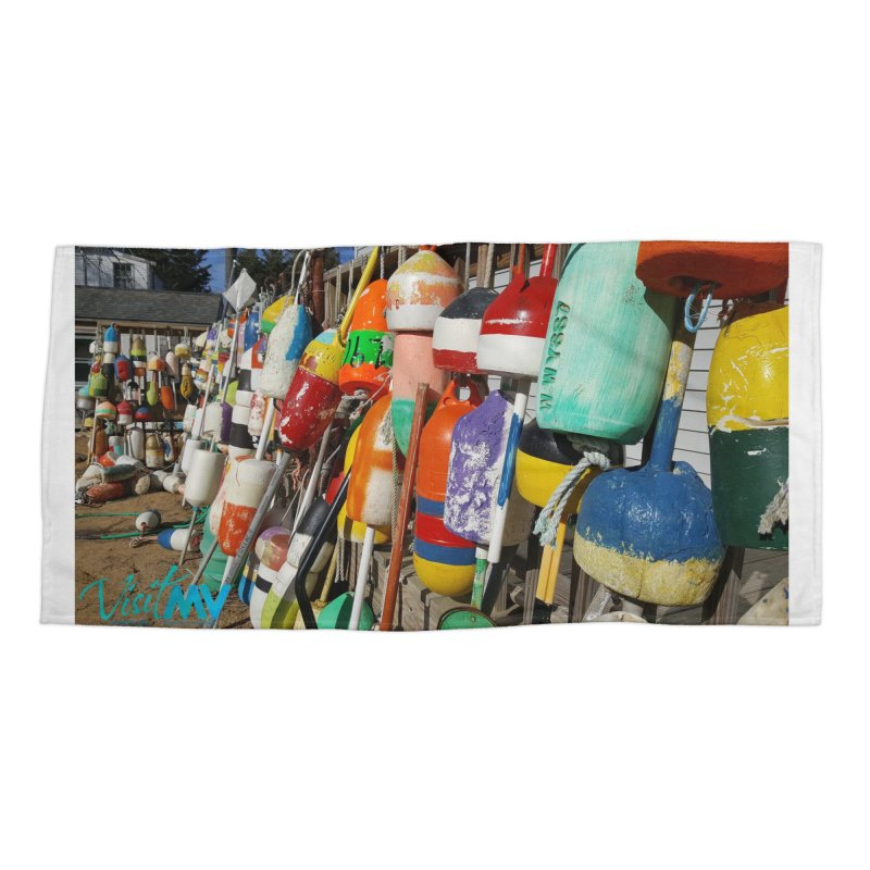 Vineyard Buoys  Accessories Beach Towel by visitmv's Shop